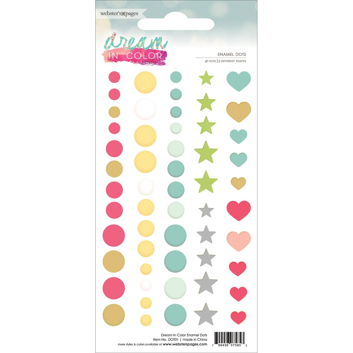 websters pages enamel dots dream in color
