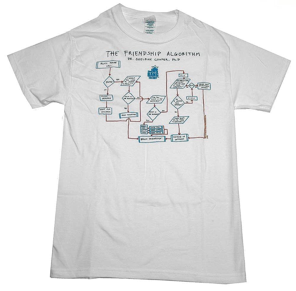 Friendship Algorithm t Shirt Algorithm Herren T-shirt