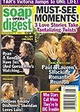 Doug Davidson, Tracey E. Bregman, Galen Gering, McKenzie Westmore, Cameron Mathison, Alicia Minshew - November 11, 2003 Soap Opera Digest Magazine