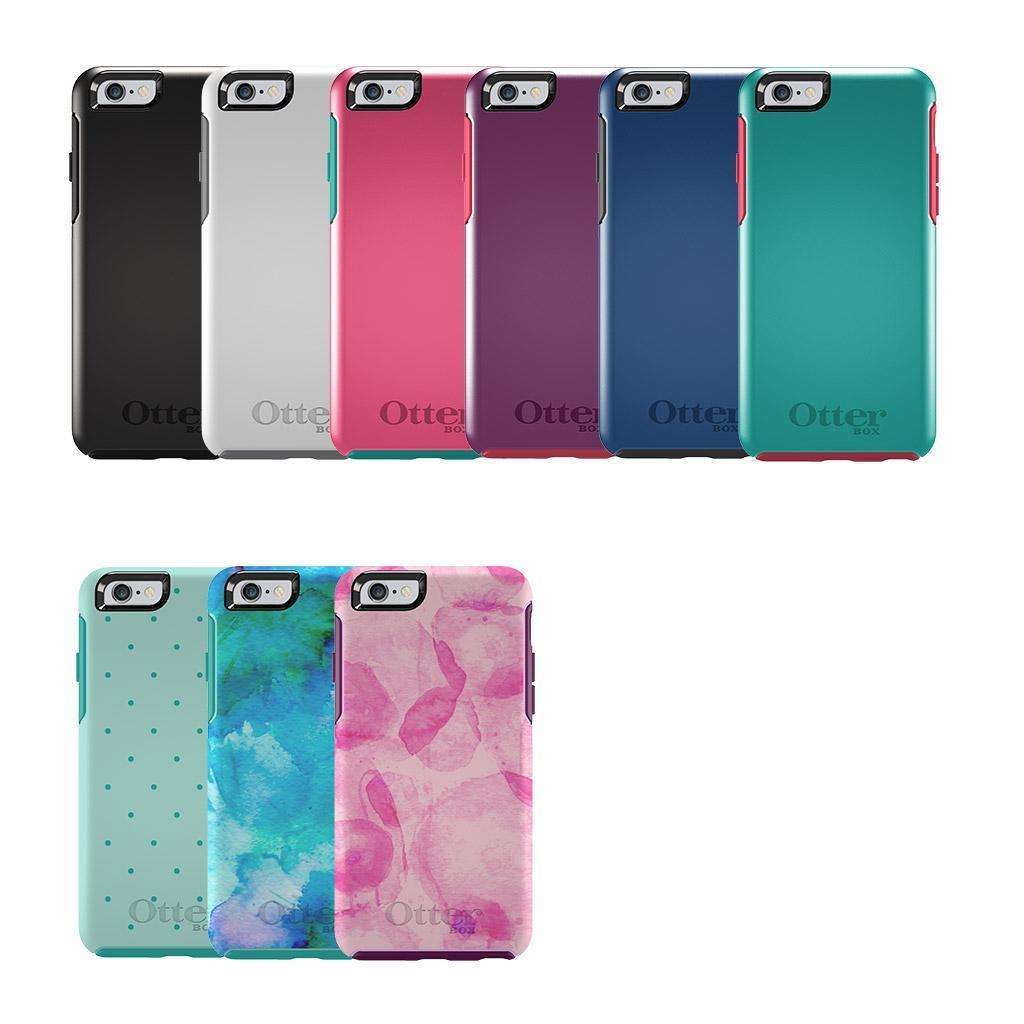 hot sale online 28ce7 242c5 OtterBox Symmetry for Apple iPhone 6 & 6S - Aqua Dot II| Blink Kuwait