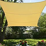 BlueDot Trading Rectangle Shade Sail-Breathable Mesh, 13 by 16.5-Inch, Beige