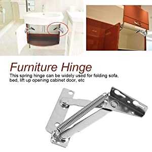 80 Degree Folding Sofa Bed Cabinet Hinge Spring Hinge (2 Pieces)
