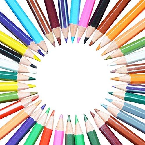 APAS 36 Colors Pencil Set For Secret Garden Enchanted Forest Lost Ocean Adult Coloring