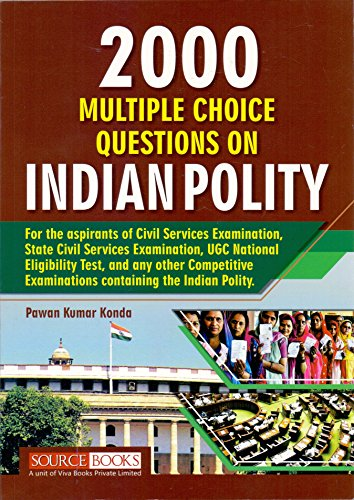 2000 multiple Choice Questions On Indian Polity (English)
