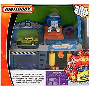 Matchbox car wash