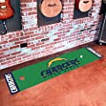 "Fan Mats 9027 NFL - San Diego Chargers 18"" x 72"" Putting Green Mat"