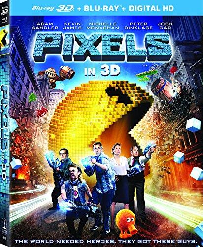 Pixels / ピクセル (3D Blu-ray + Blu-ray + UltraViolet)[北米版]