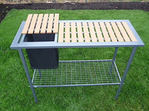 Potting Bench Weatherguard Garden And Greenhouse Workbench Portable New Ebay
