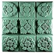 Gothic Florals-Tray Milky Way Soap Mold
