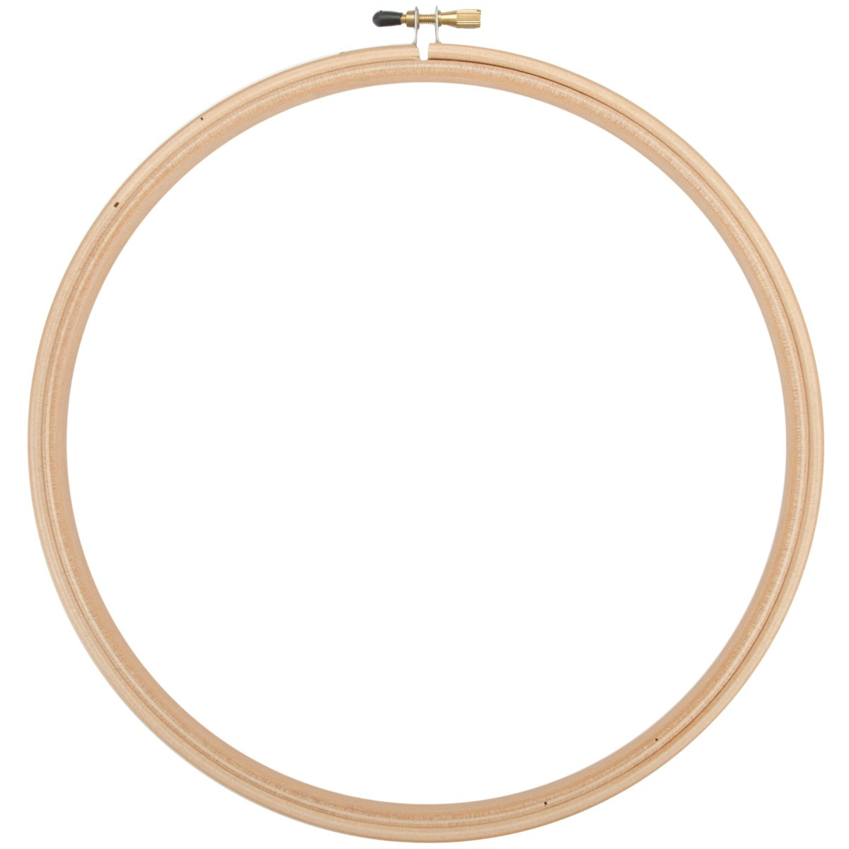 Edmunds Wood Embroidery Hoop with Round Edges, 12-Inch