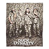 Duck Dynasty Duck Camo Plush Throw by Duck Dynasty