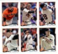 2014 Topps San Francisco Giants WORLD SERIES CHAMPIONS Complete (Series 1 & 2) Baseball Cards Team Set (22 Cards)