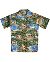 RJC Boys Size 2 to 18 Shave Ice Shack Shirt