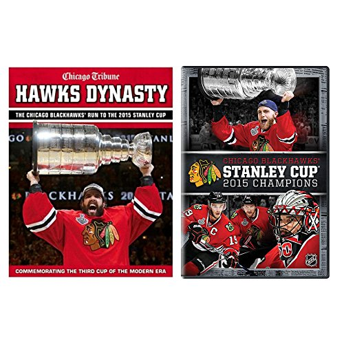 Chicago Blackhawks 2015 Stanley Cup Champions 'Hawks Dynasty' Book & DVD Combo Pack
