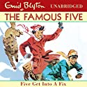 Five Get Into A Fix: Famous Five, Book 17 Audiobook by Enid Blyton Narrated by Jan Francis