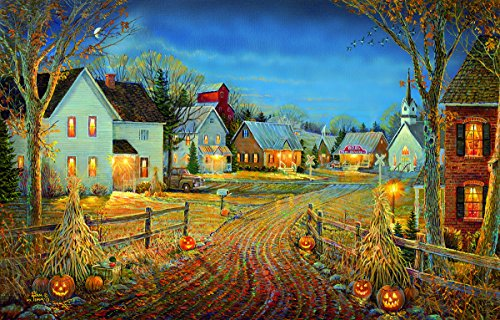 A Country Town in Autumn 550 Piece Jigsaw Puzzle by Sunsout Inc.