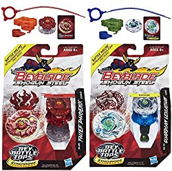 Beyblade Shogun Steel Beybattle Thief Phoenix SS-09 Top Guardian Leviathan SS-10 Top Bundle