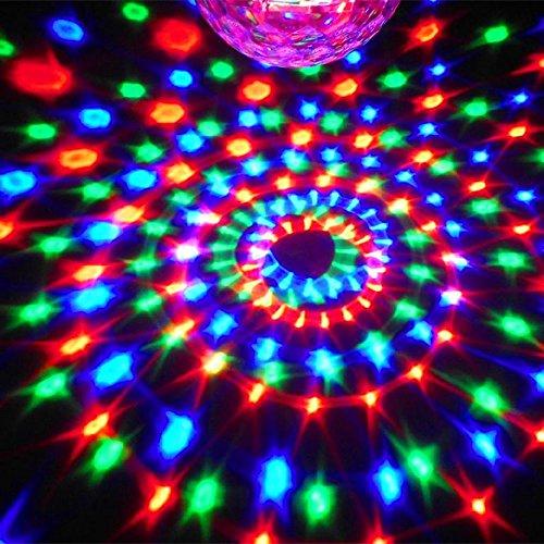 KLAREN DMX512 6 LED Disco DJ 6 Color Changing Stage