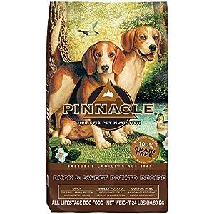 Pinnacle Grain Free Duck and Sweet Potato Formula Dog Food, 24 lb.