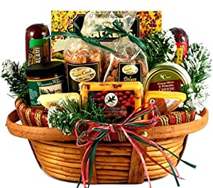 Gift Basket Village Home For The Holidays Christmas Gift Basket