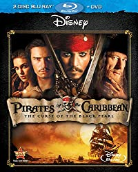 Pirates Of The Caribbean: The Curse Of The Black Pearl (Three-Disc Blu-ray/DVD Combo)
