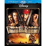 Pirates Of The Caribbean: The Curse Of The Black Pearl (Three-Disc Blu-ray/DVD Combo) ~ Johnny Depp
