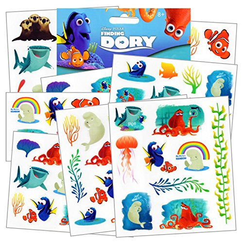 disney-finding-dory-tattoos-75-assorted-temporary-tattoos-dory-nemo-marlin-squirt-the-turtle-bailey-