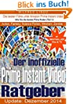 Prime Instant Video - der inoffiziell...