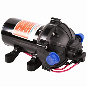 Eteyo 12v dc diaphragm water pump 60psi garden for Water motor pump price