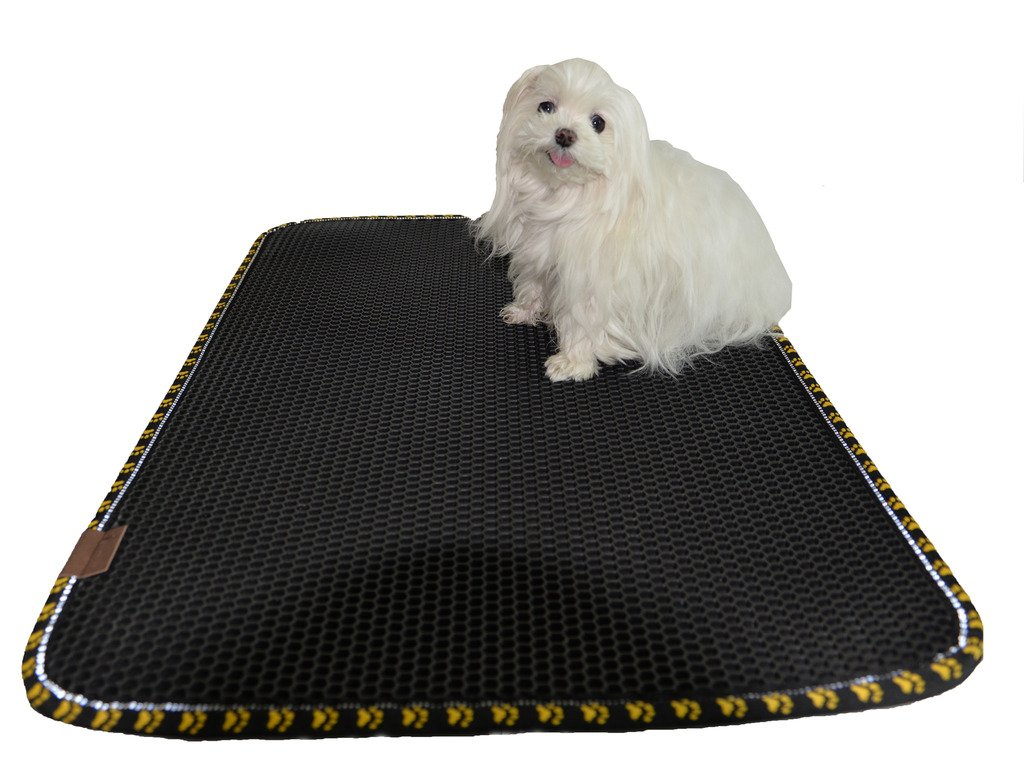 Amazon.com : Cat Litter Mat Extra Large Size, 32 X 24 Inches Light ...