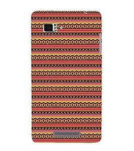 EPICCASE ethnic pattern Mobile Back Case Cover For Lenovo Vibe Z K910 (Designer Case)