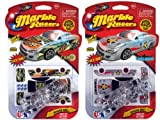 Light Up Marble Racer: Camo & Tiger Shark