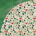 Basic Grey Evergreen Goodwill Christmas Scrapbook Paper
