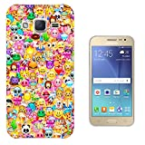 925 - Collage Multi Smiley Faces Emoji Design Samsung