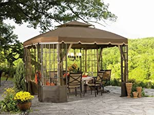 61CyXuZSUgL. SX300  2012 Replacement Canopy Set for Sears Bay Window Gazebo