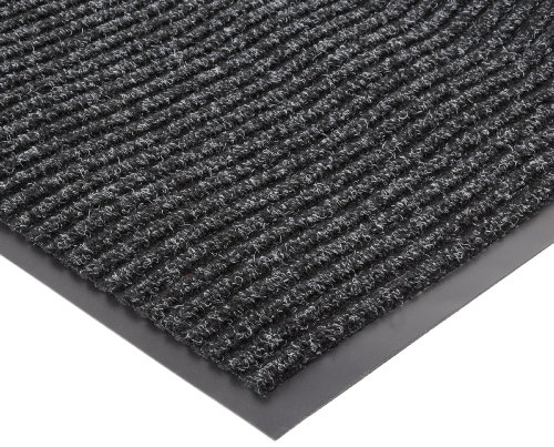 NoTrax 109 Brush Step Entrance Mat, for Lobbies and Indoor Entranceways, 4' Width x 6' Length x 3/8