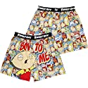 Family Guy Stewie Griffin Bow To Me Men's Boxer Shorts
