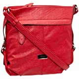 Gabor LENI Handtasche, rot 6486 40, Damen Umhngetaschen 23x24x10 cm (B x H x T)