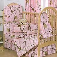 Realtree APC Pink 2 Piece Crib Set