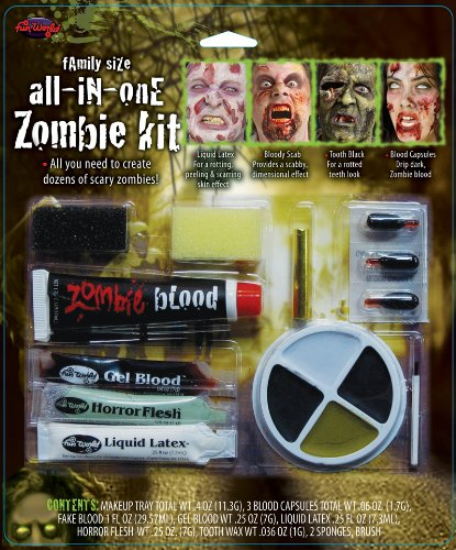 Family Size All In One Zombie Kit