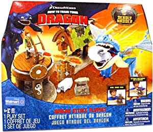 How to Train Your Dragon Playset Dragon Attack with Deadly Nadder