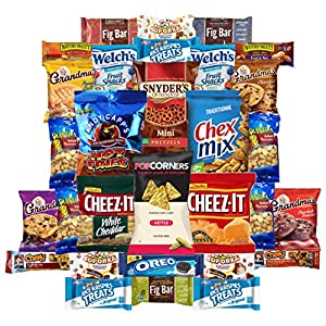 Back To School Snacks Care Package Variety Pack (30 Count)