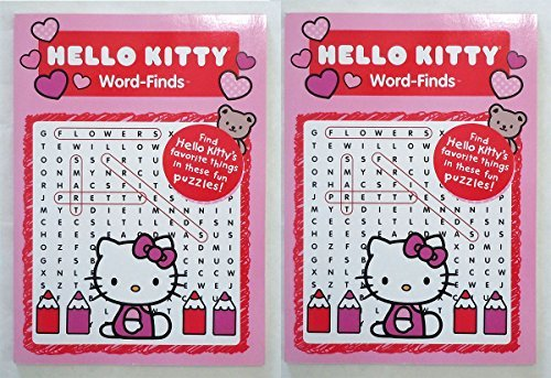 Hello Kitty Word Finds (2 Pack) - 1