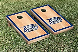 Georgia Southern Eagles Cornhole Game Set Hardcourt Border Version