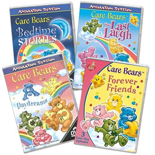 Care Bears Dvd 4 Pack back-327257