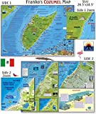 Cozumel Dive Map for Scuba Divers and Snorkelers