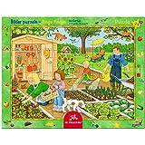 Spiegelburg 11414 Rahmenpuzzle Im Garten (24 Teile)