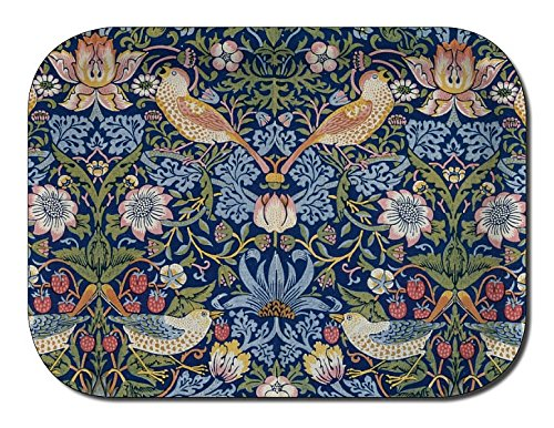 Åry trays Tablett STRAWBERRY THIEF (Erdbeerdieb) 27x20 cm, William Morris