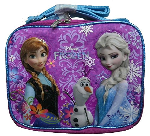 Disney Frozen Elsa, Anna & Olaf Purplr Lunch Bag / 107