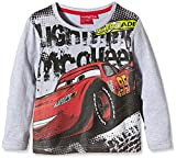 DISNEY  HO1564 - Camiseta manga larga infantil, color gris, 8 años
